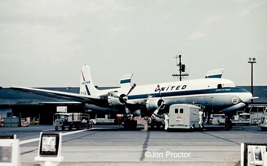 12 DC-6A N37591 LAX - Bob Proctor