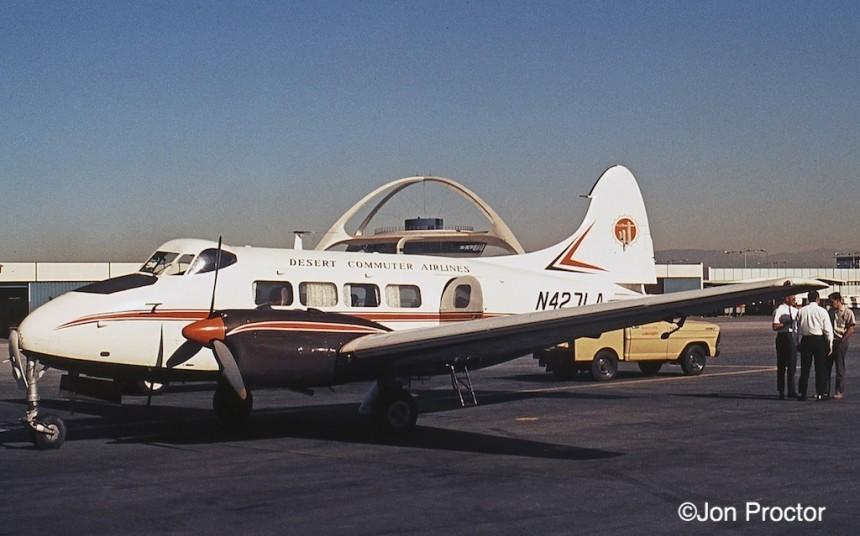136 DH104-Dove-N427LA-LAX-12669-1-Bob-Proctor
