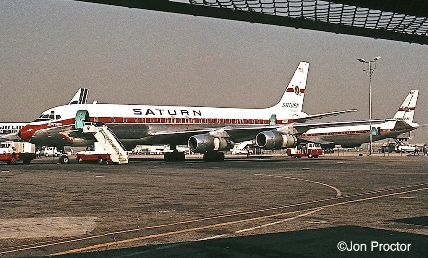 146 DC-8-54F N8008F LAX 12:70 Bob Proctor