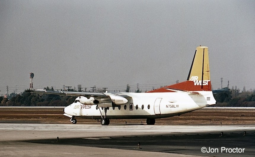 148 F-27A N758L LAX 1:71 Bob Proctor-6987375