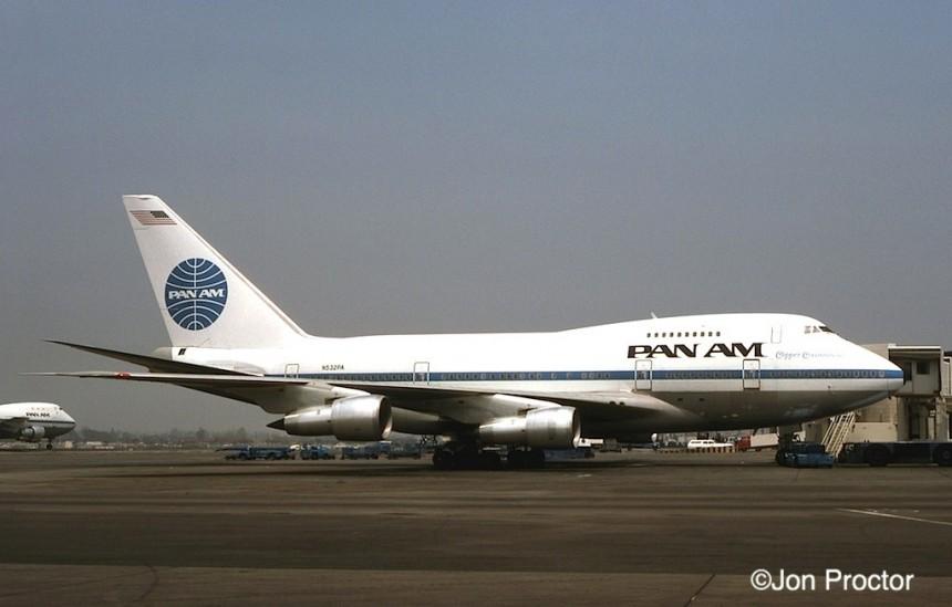 168A 747SP-21 N532PA LAX 7:76-2