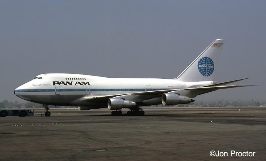 168B 747SP-21 N532PA LAX 7:76