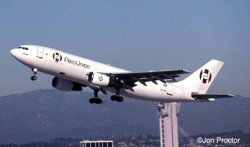 188 A300B4-203 XA-TWQ LAX 11:05-H