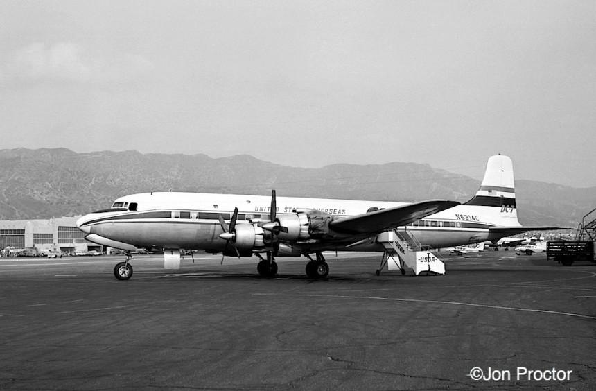 198 DC-7 N6314C BUR 3:1:64