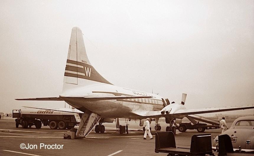2 CV-240 N8407H LAX 9:50 Bill Proctor