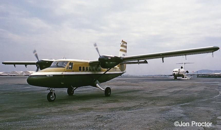 203 DHC-6 N7667 BUR 5:69 Bob Proctor