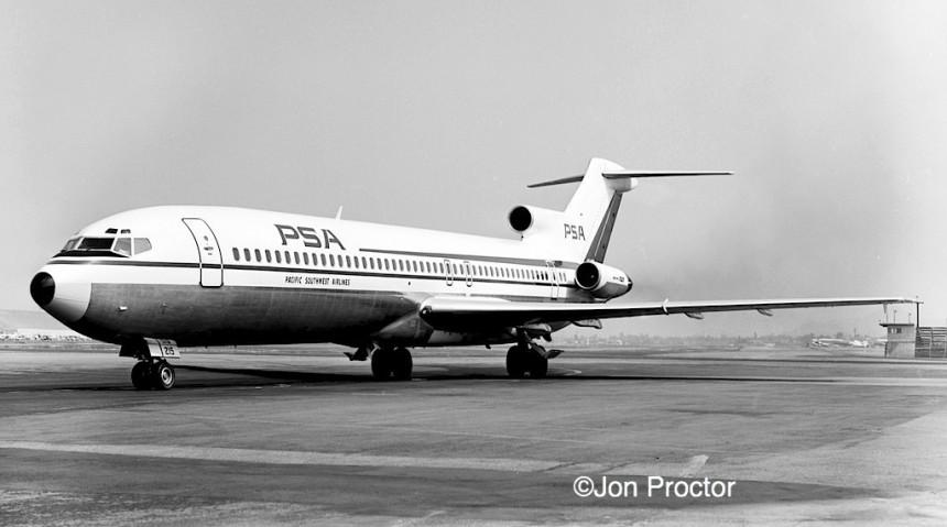 204 727-214 N541PS BUR 1969 Bob Proctor