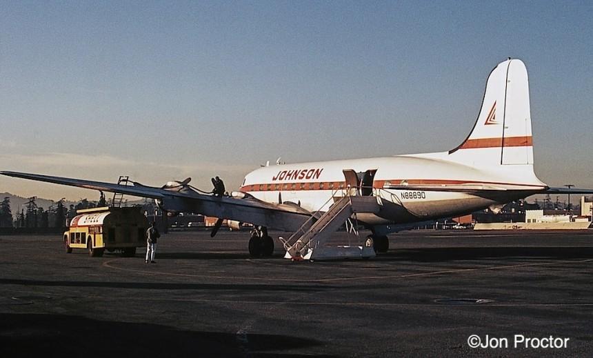 208 DC-4-N88890-Johnson-FS-LGB-1669-Bob-Proctor