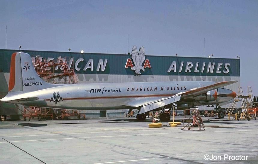 43 DC-7BF N337AA LAX 7:1:62-5935355