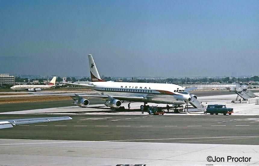 52A DC-8-51 N875C LAX 8:28:63
