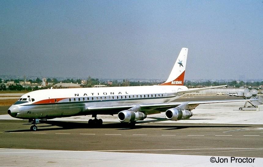 52B DC-8-51 N875C 1962 LAX