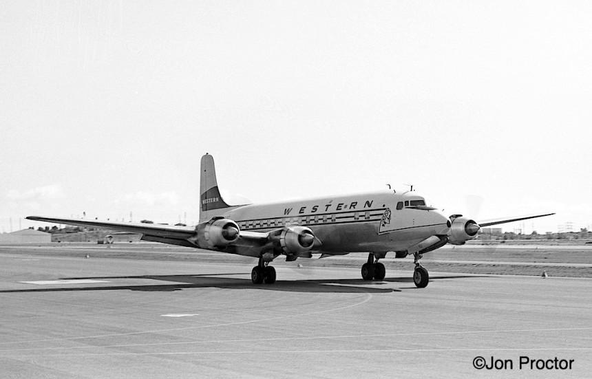 66 DC-6B N93132 LAX 2:18:64-7385911