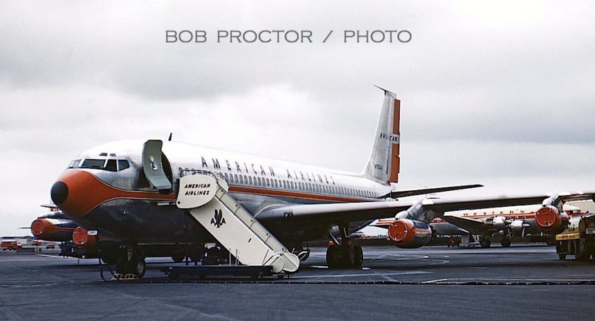 707-123 N7504A LAX 1959 Bob Proctor