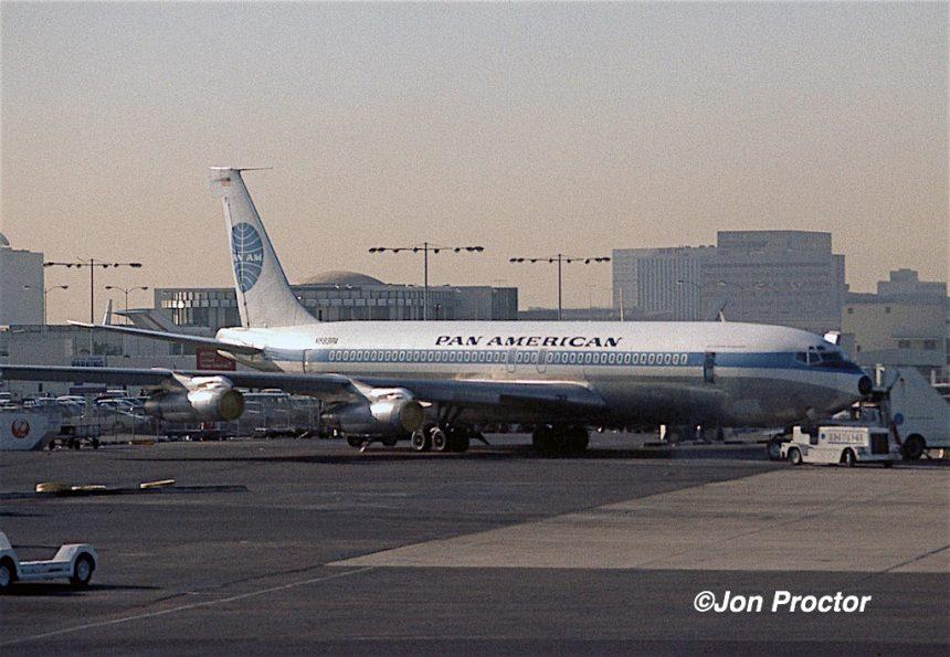 707-321B N893PA LAX 10-01-1971