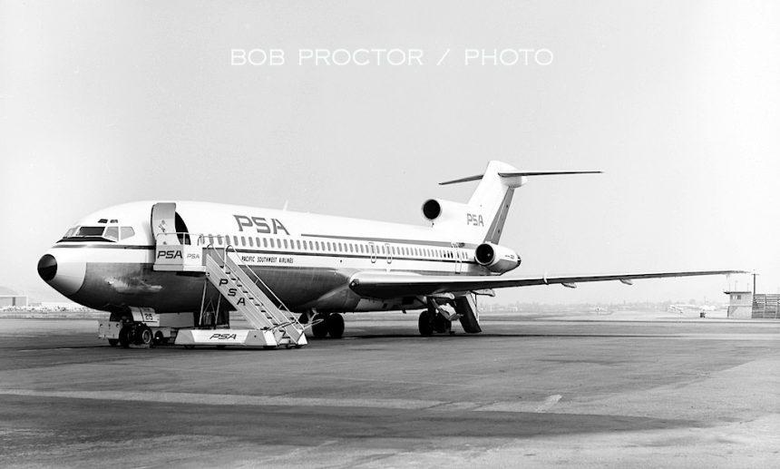 727-214 N541PS BUR 1969 Bob Proctor