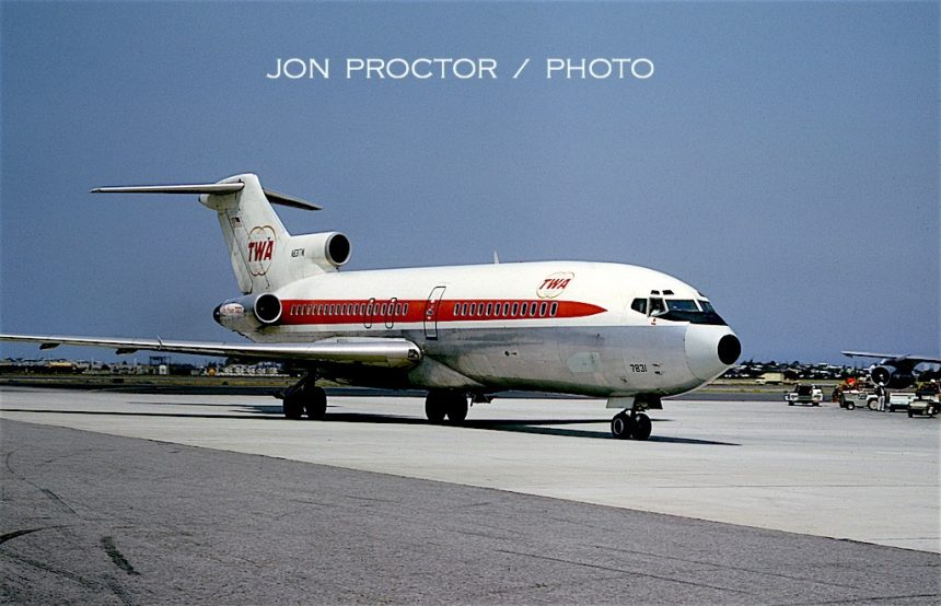 727-31 N831TW LAX 05-1967