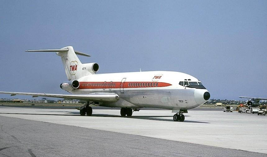 727-31- N831TW LAX 05-1967