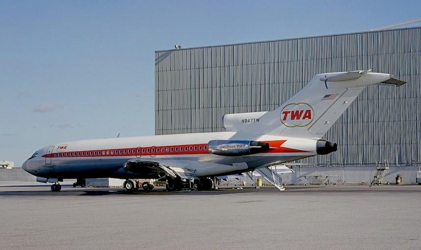 727-31 N847TW LAX 05-1967