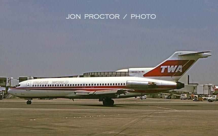 727-31C N895TW LAX 06-23-75