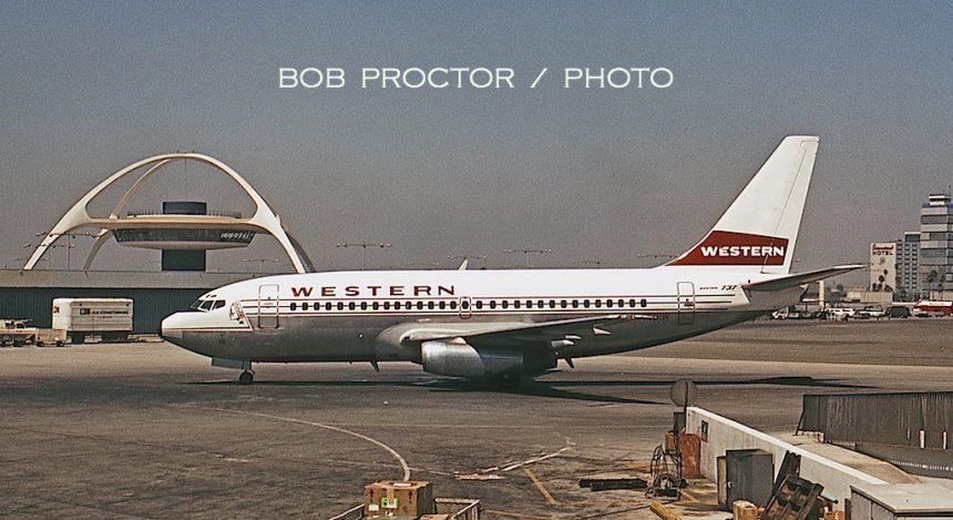 737-247 N4501W LAX 8:7:68 Bob Proctor