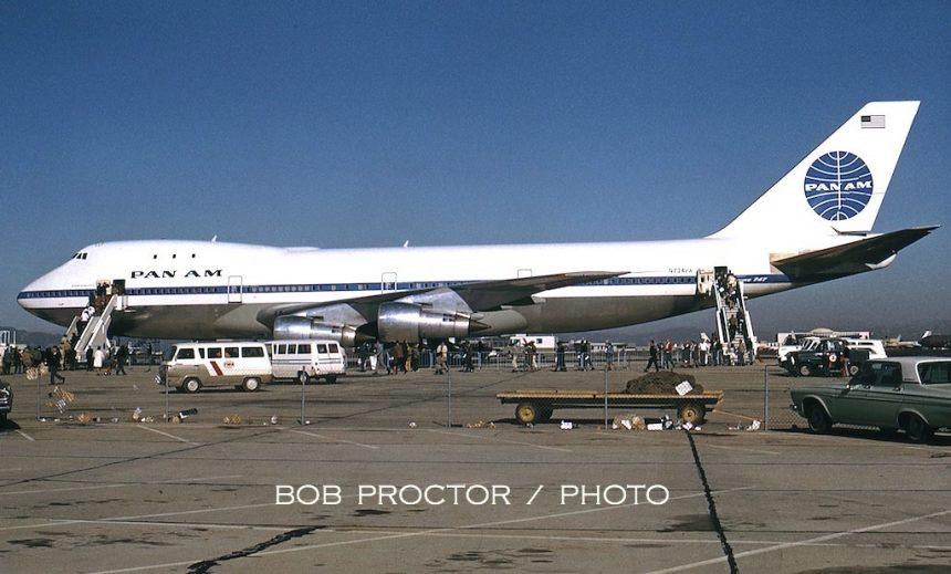 747-121 N734PA LAX 2:70 Bob Proctor