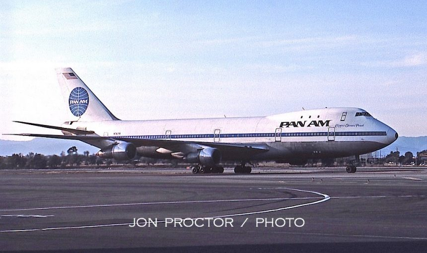 747-121 N740PA LAX 10:21:84