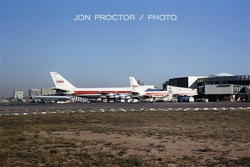 747-131 N93103 LAX2-2-70 route proving
