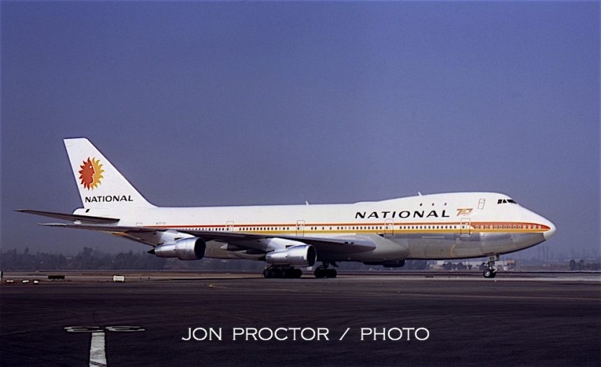 747-135 N77773 LAX 11:2:70--