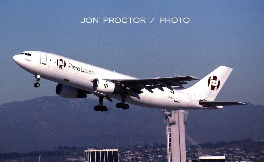 A300B4-203 XA-TWQ LAX 11:05-H