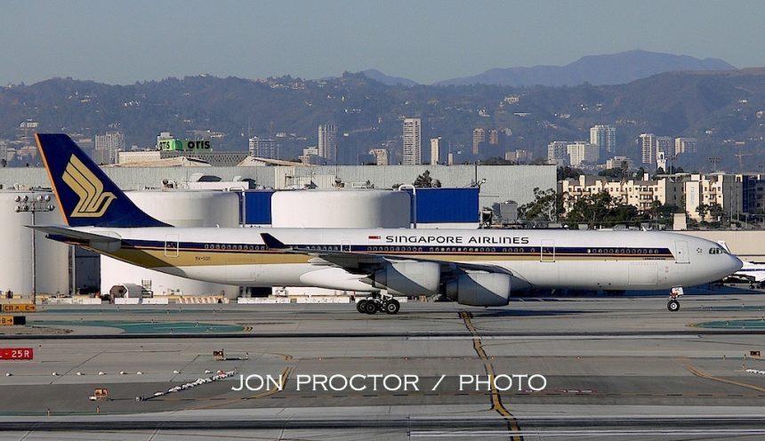 A340-541 9V-SGE LAX 1:08