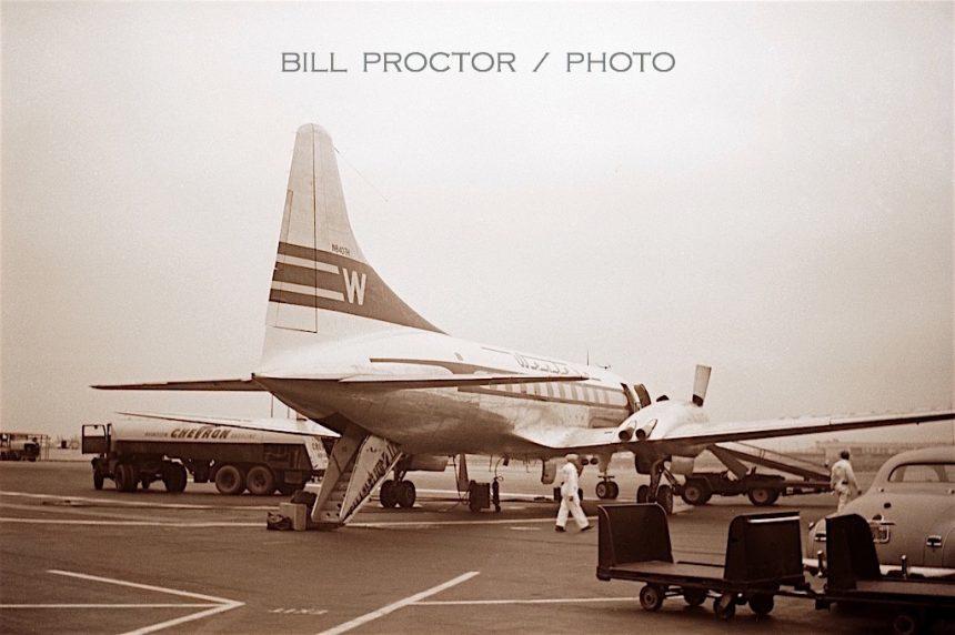 CV-240 N8407H LAX 9:50 Bill Proctor-7312362