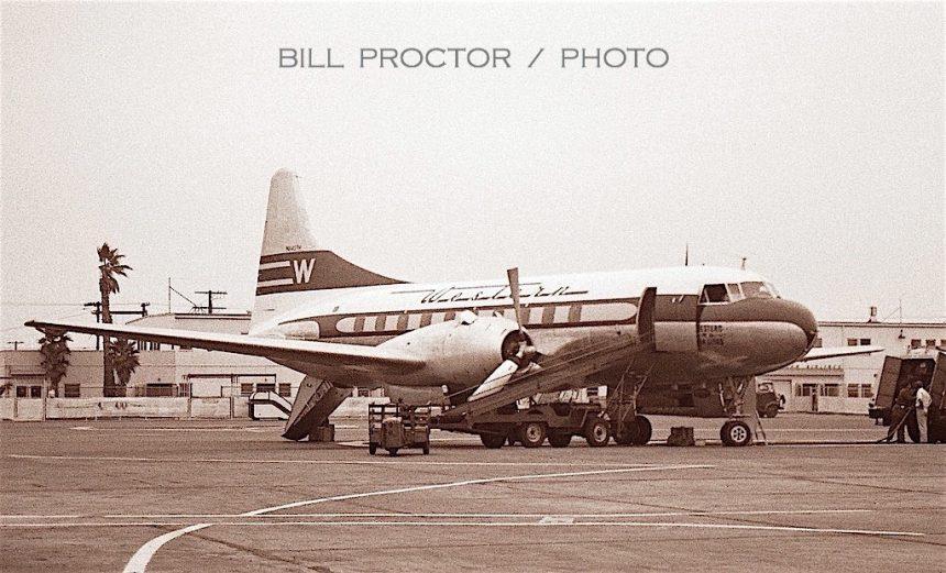 CV-240 N8407H LAX 9:50-Bill Proctor
