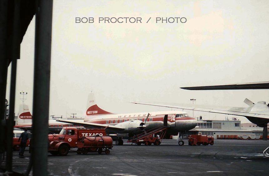 CV-240 N8410H LAX 1959 Bob Proctor-6934481