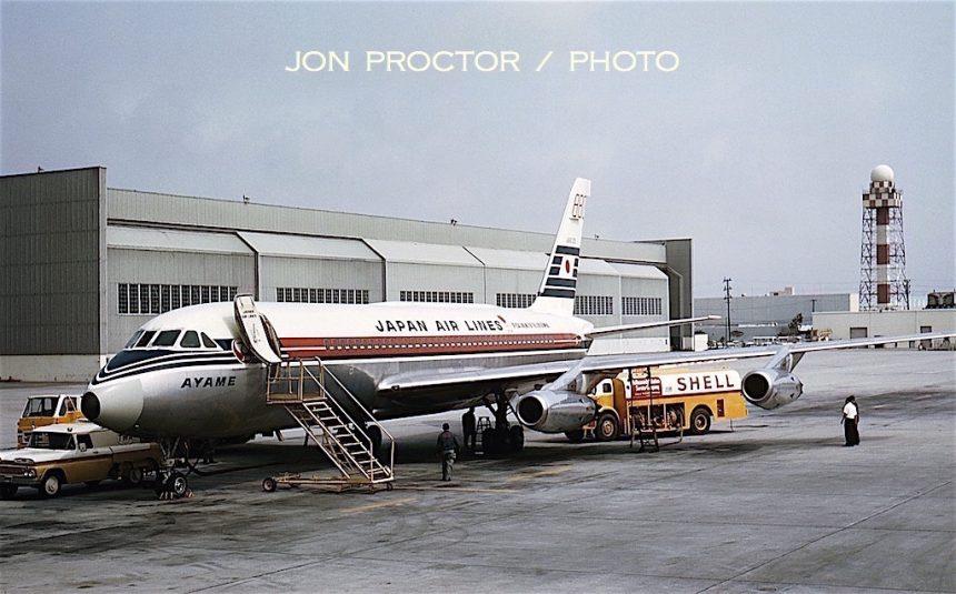 CV-880M JA8025 JAL LAX 6:64
