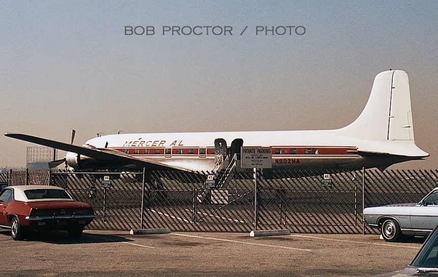 DC-6 N902MA LGB 3:70 Bob Proctor