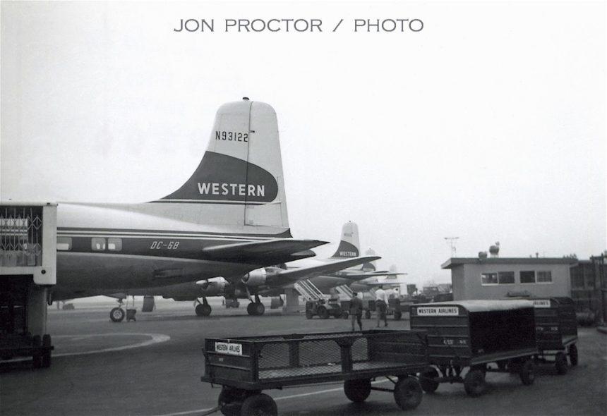 DC-6B N93122 LAX 3:9:60