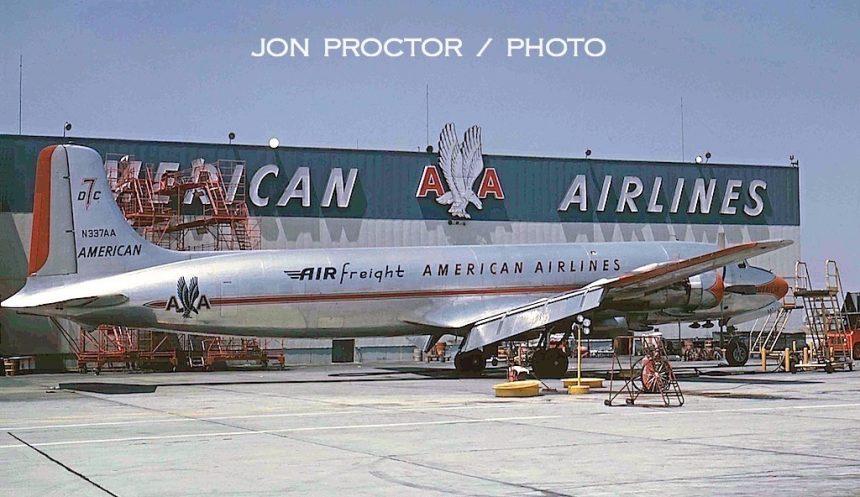 DC-7BF N337AA LAX 7:1:62-5935355