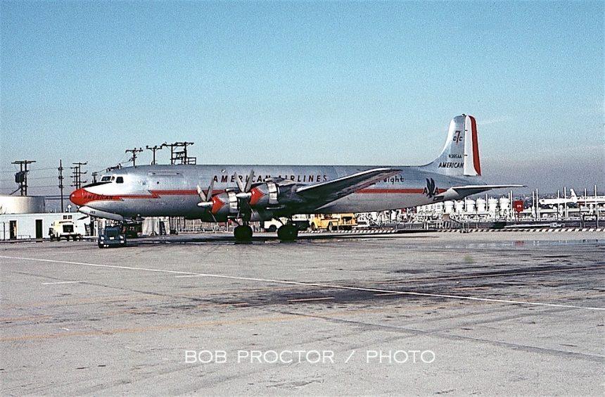 DC-7BF N385AA LAX Bob Proctor-6994440