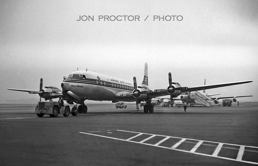 DC-7C JA6302 LAX 3:4:60