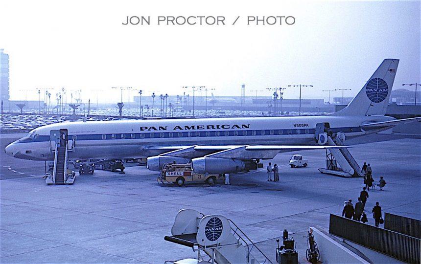 DC-8-33 N806PA LAX 9:6:62