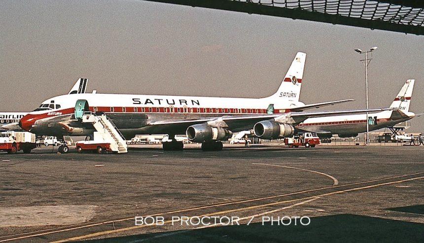 DC-8-54F N8008F LAX 12:70 Bob Proctor