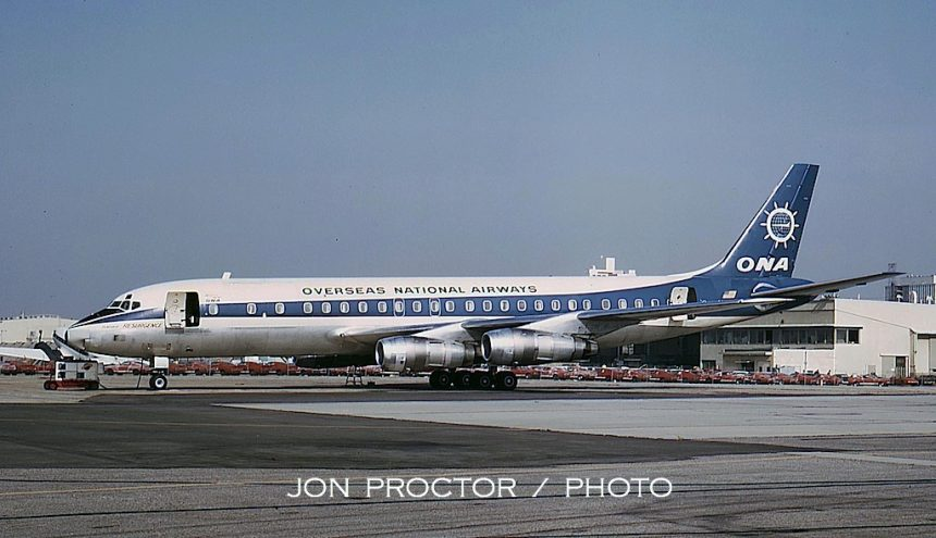 DC-8-54F N8785R ONA LAX 5:67
