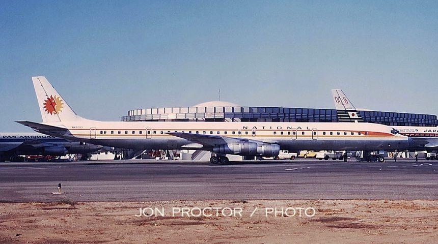 DC-8-61 N45090 LAX 8:21:68