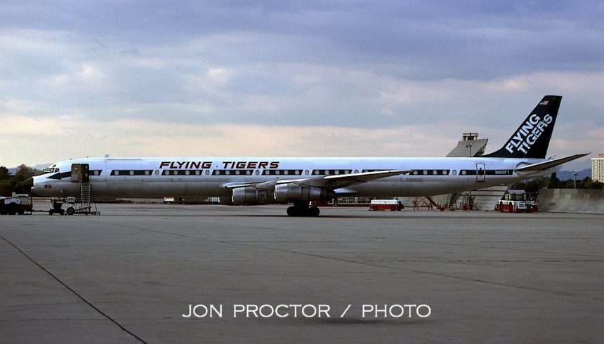 DC-8-61CF N860FT LAX 4:78 Jon Proctor