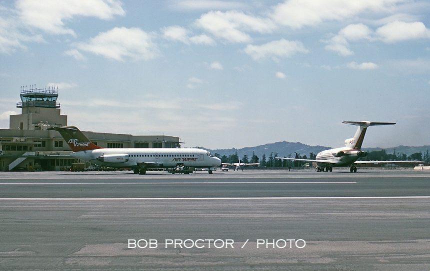 DC-9-14 N9102 BUR 5:67 Bob Proctor