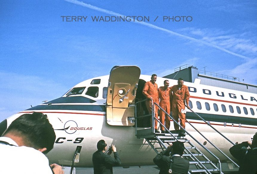 DC-9 crew FF 2:25:65 Terry Waddington