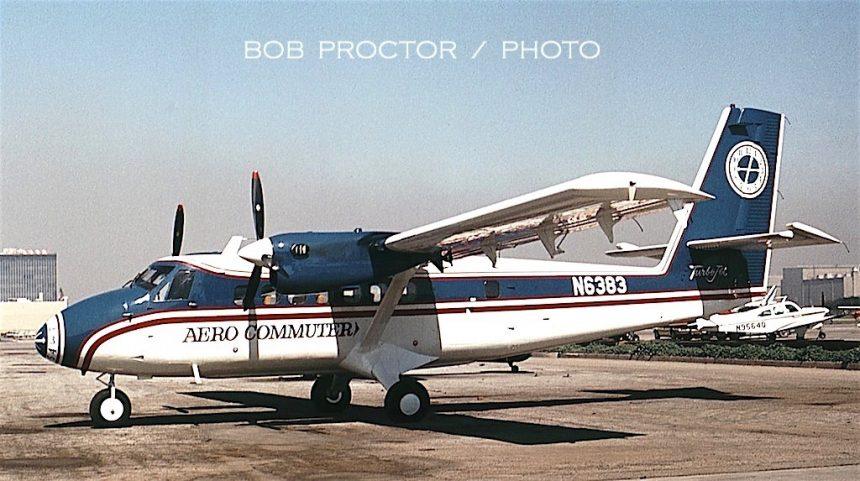 DHC-6-200 N6383 LGB 3:68-7317011