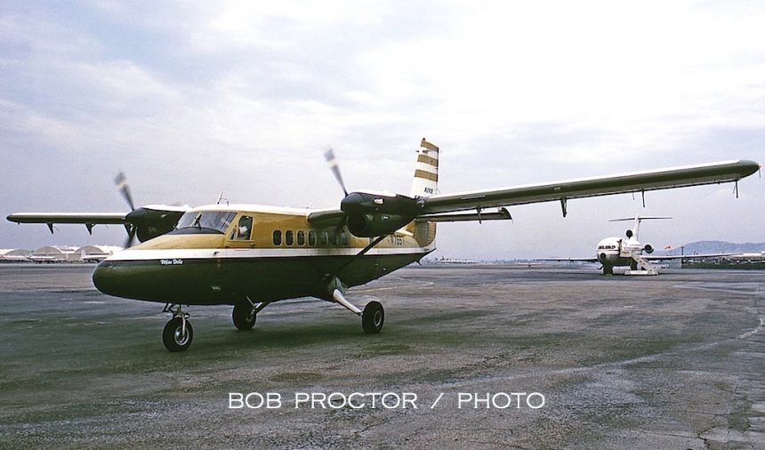 DHC-6 N7667 BUR 5:69 Bob Proctor-7317010 2