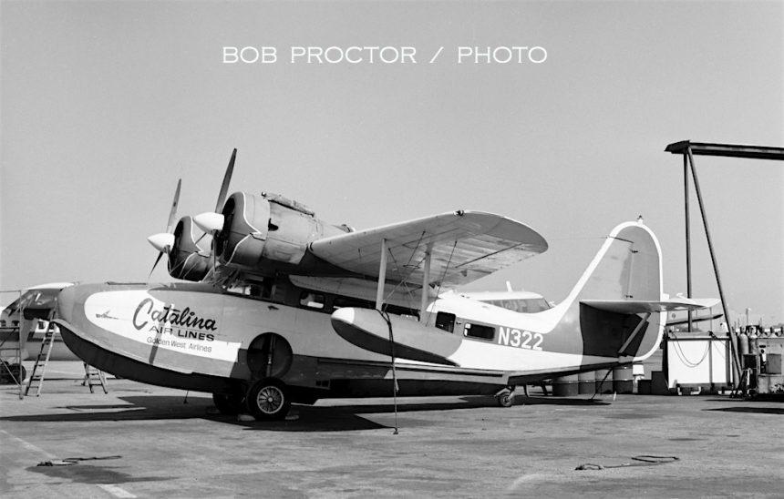 G-21A Goose N322 LGB 1973 Bob Proctor-7402489