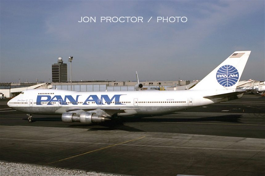 747-212B N723PA JFK 3:1:86
